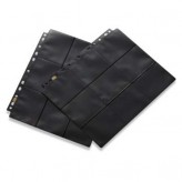 18-Pocket Pages - Clear-Black - Side Loading
