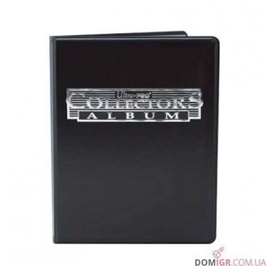 Collectors 4-Pocket Portfolio – Black