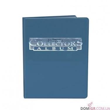 Collectors 4-Pocket Portfolio – Blue