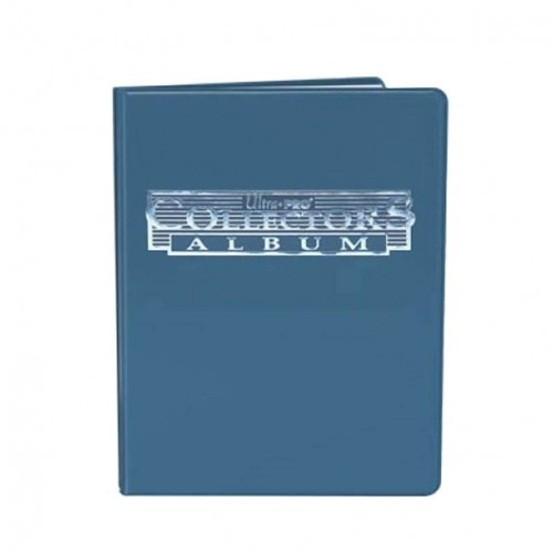 Collectors 4-Pocket Portfolio – Blue