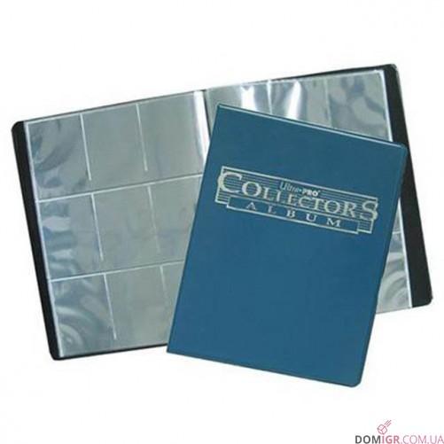 Collectors 9-Pocket Portfolio – Blue