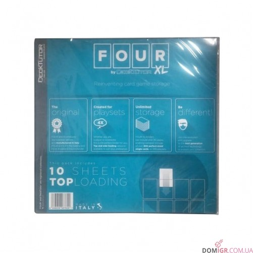 12-Poket Top loading Sheets - FOUR XL