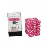 Кубик D6 12мм - Розовий, Pink