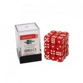 Кубик D6 12мм - Красный, Red