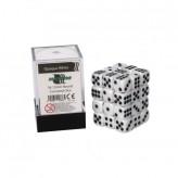 Кубик D6 12мм - Белый, White