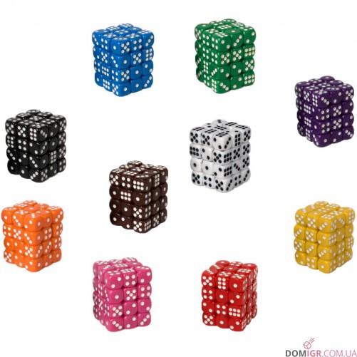 Кубик D6 12мм - Розовый, Pink