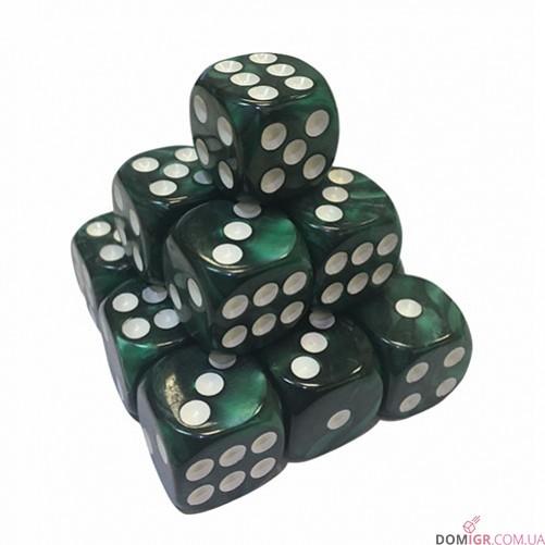 Кубик D6 16мм Перламутровый - в ассортименте