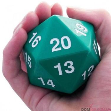 Dice - D20 Countdown Die 55 mm - Green