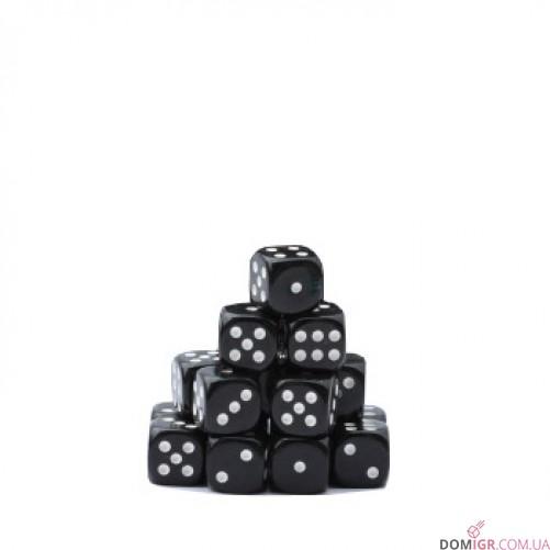 Кубик D6 16мм - Черный