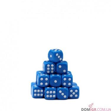 Кубик D6 16мм - Синий