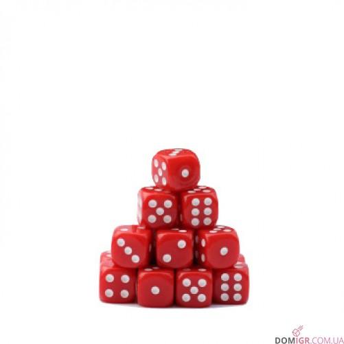 Кубик D6 16мм - Красный