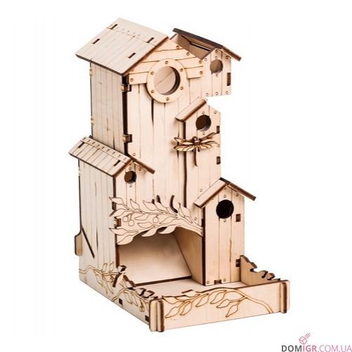Башня для кубиков - Скворечник