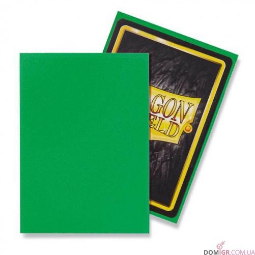 Dragon Shield: Apple Green - Протекторы 100шт