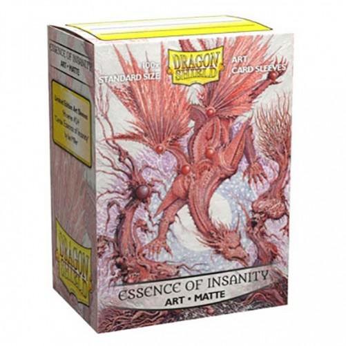 Dragon Shield Matte Art Essence of Insanity - Протекторы 100шт
