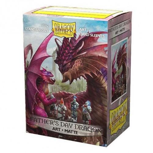 Dragon Shield Matte Art Father's Day Dragon - Протекторы 100шт