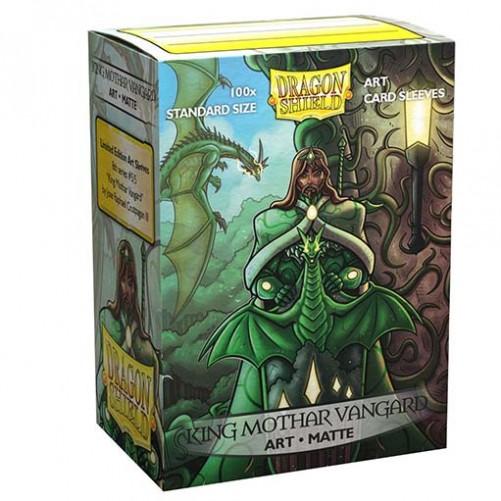 Dragon Shield Art King Mothar Vanguard - Протекторы 100шт