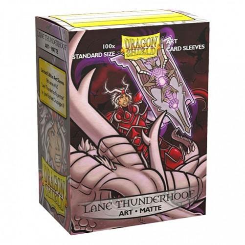 Dragon Shield Matte Art Lane Thunderhoof Portrait - Протекторы 100шт