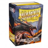 Dragon Shield: Black Non Glare - Протекторы 100шт