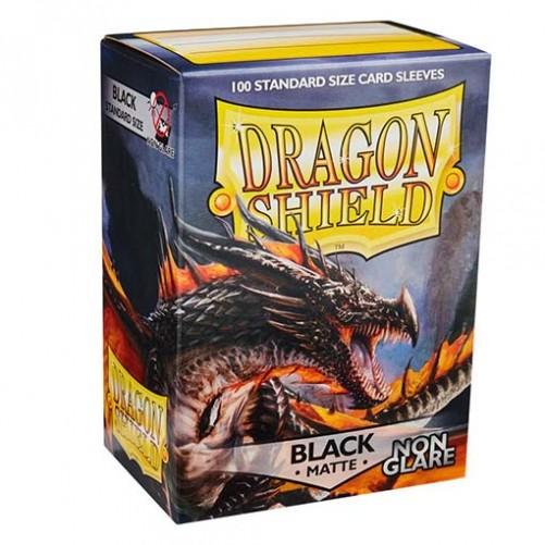 Dragon Shield: Black Non Glare - Протекторы 100шт