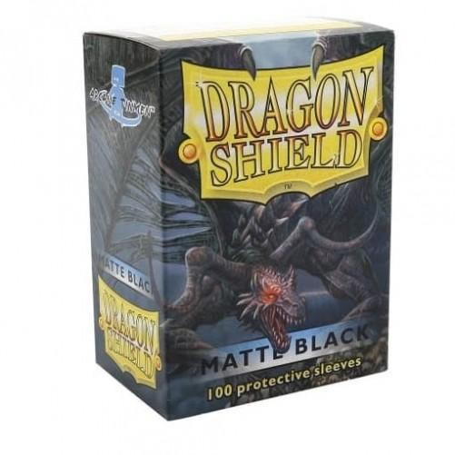 Dragon Shield: Black - Протекторы 100шт