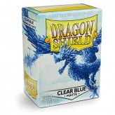 Dragon Shield: Clear Blue - Протекторы 100шт