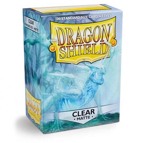 Dragon Shield: Clear Matte - Протекторы 100шт