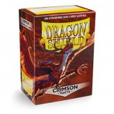 Dragon Shield: Crimson - Протекторы 100шт