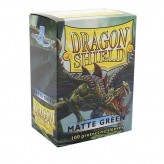 Dragon Shield: Green - Протекторы 100шт