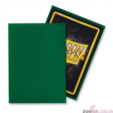 Dragon Shield: Green - Протекторы 100шт