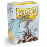 Dragon Shield: Silver - Протекторы 100шт