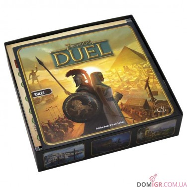 7 Wonders Duel + Exp - Органайзер FS
