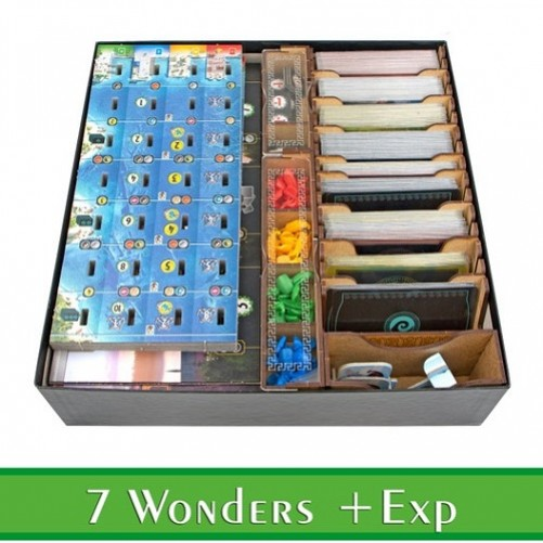 7 Wonders: Second Edition - Органайзер МДФ