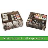 Rising Sun + EXP - Органайзер МДФ