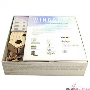 Wingspan + European Exp - Органайзер фанера