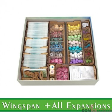 Wingspan + All Exp - Органайзер МДФ