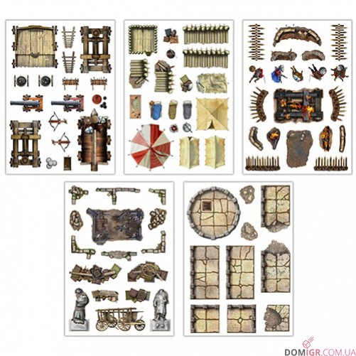 Add-On Scenery for RPG Battle Mats War and Siege
