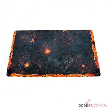 Arena Edition Volcano - Blackfire Playmat - Ultrafine 2mm