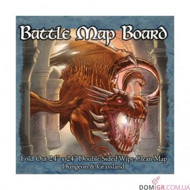 Battle Map Board – Dungeon & Grassland