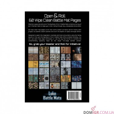 Big Book of Sci-Fi Battle Mats