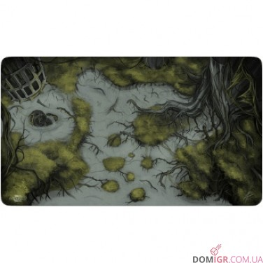 Blackfire Playmat - Battleground Edition Swamp - Ultrafine 2mm