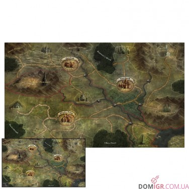 Folklore: The Affliction – Oversized Cloth World Map