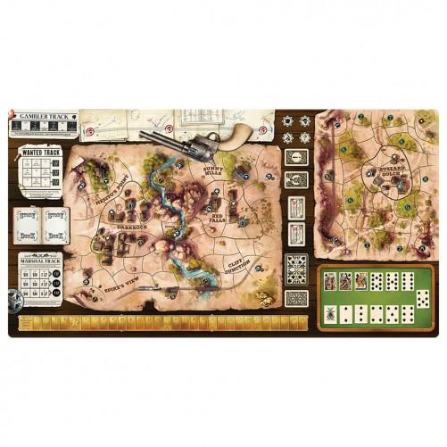 Western Legends: Playmat