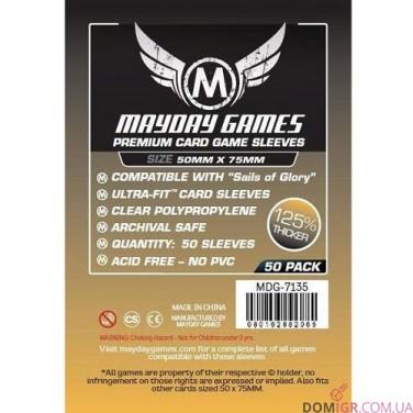 Протекторы Mayday Games - 50х75 мм,  Premium