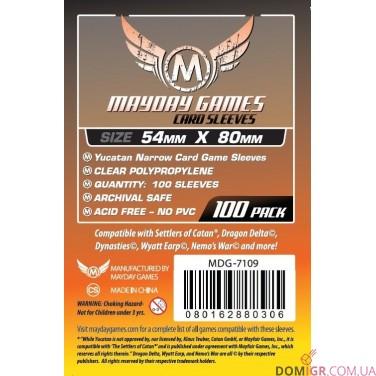 Протекторы Mayday Games - 54х80 мм - Yucatan