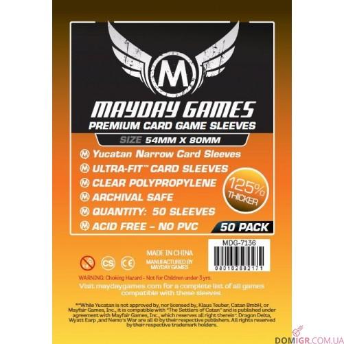 Протекторы Mayday Games - 54х80 мм - Yucatan, Premium