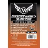 Протекторы Mayday Games - 57,5х89 мм - 50 Pack, Premium Thickness
