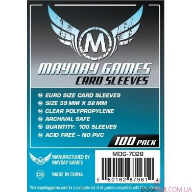 Протекторы Mayday Games - 59х92 мм