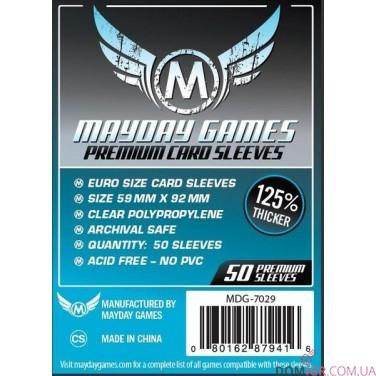 Протекторы Mayday Games - 59х92 мм, Premium