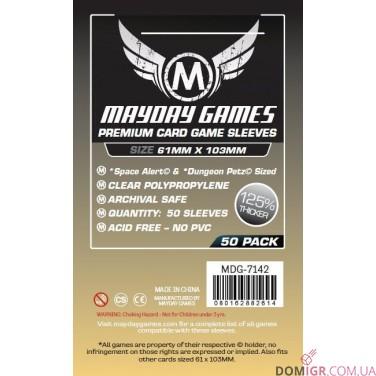 Протекторы Mayday Games - 61х103 мм, Premium
