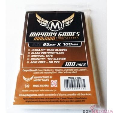Протекторы Mayday Games - 65х100 мм - 7 Wonders